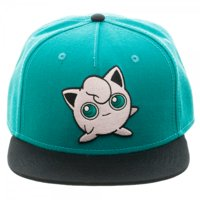 Baseball Cap - Pokemon - Jigglypuff Color Block Snapback New sb3f3xpok