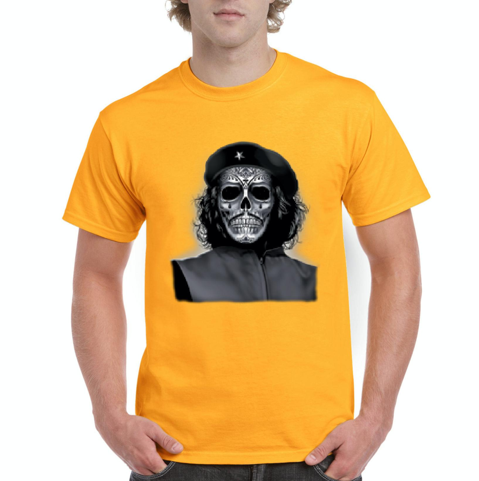 Artix - Halloween T-Shirt Che Guevara Skull Halloween Costumes Idea ... c2c1d6cf9