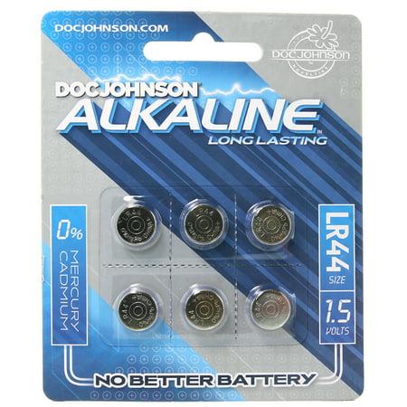 Doc Johnson Alkaline Batteries - 4 Pack AA-SQDJ0399-08