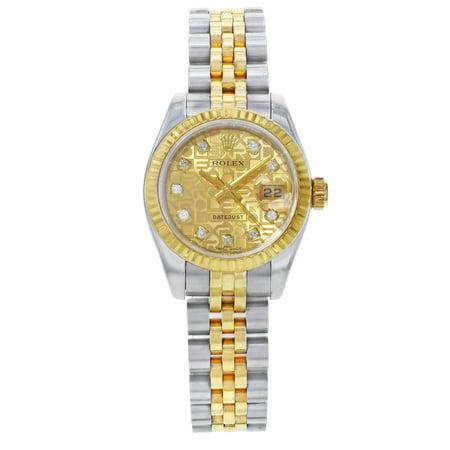 Rolex Datejust 179173 Steel 26mm Women Watch (Certified Pre-Owned)