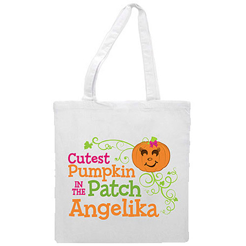 Personalized Girl's Cutest Pumpkin In The Patch