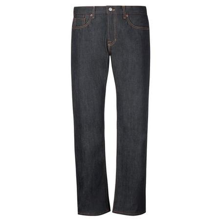 Indigo Striped Jeans - Jean Shop Men's Rocker Jeans MENSROCKER-INDIGO Indigo