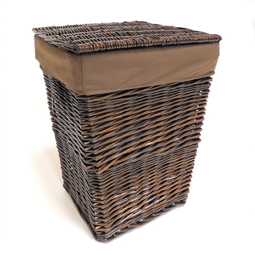 Better Homes and Gardens Handwoven  Willow Laundry Hamper