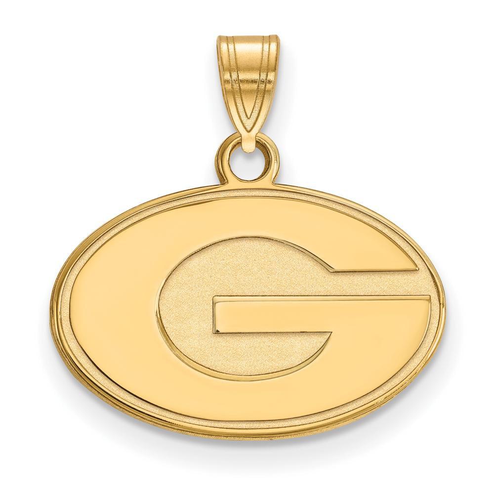 Georgia Small (1/2 Inch) Pendant (10k Yellow Gold)