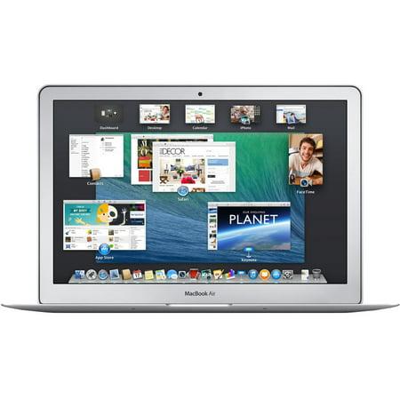 Refurbished Apple A Grade MacBook Air 11.6-inch Laptop 1.4GHz Dual Core i5 MD711LL/B 128 GB HD 4 GB Memory 1366 x 768 Display Mac OS X v10.12 Sierra Power