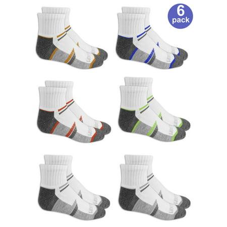 Ankle Socks, 6 Pairs (Big Boys)