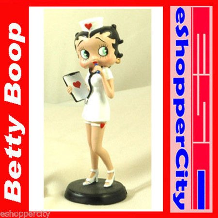 Betty Boop Polyresin Betty Boop Nurse Outfit](Nurse Outfit)
