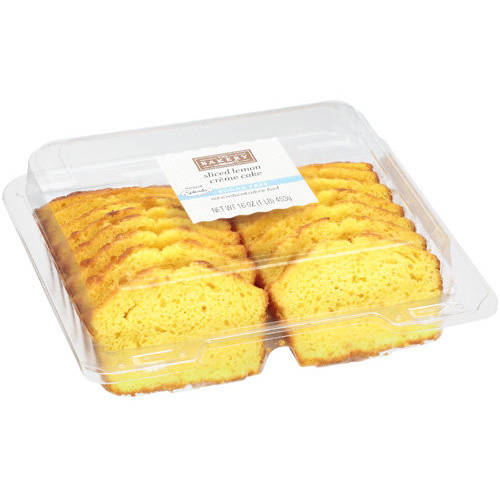 The Bakery At Walmart Sugar Free Sliced Lemon Creme Cake, 16 oz