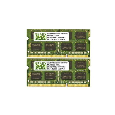 NEMIX RAM 16GB 2X8GB DDR3L-1600 Memory for Apple Mac Mini 2012 6,1 6