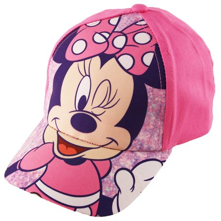 Disney Baseball (Disney Minnie Mouse Bowtique Cotton Baseball Cap, Toddler Girls, Age)