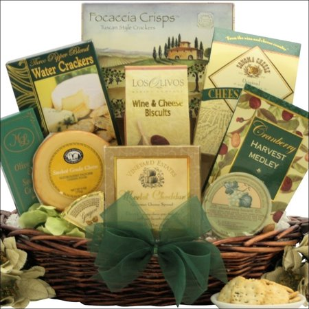 GreatArrivals.com Gift Baskets Holiday Cheese Delights: Gourmet Holiday Christmas Cheese Gift Basket - Walmart.com