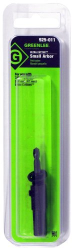 3//16 in Dia x 1-1//2 in L Pilot Drill Greenlee 925-011 Small Arbor Steel 3//8 in Shank