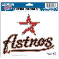 "Houston Astros Ultra decals 5"" x 6"""