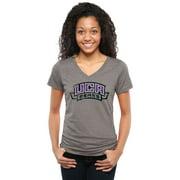 Central Arkansas Bears Women's Classic Wordmark Tri-Blend V-Neck T-Shirt - Heather Gray