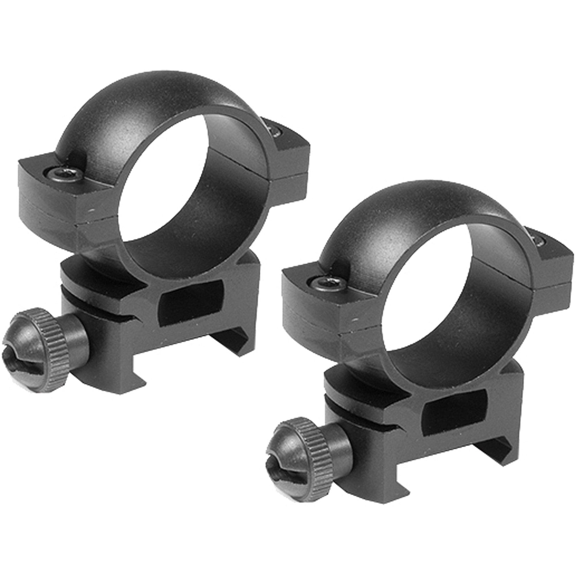 """Barska Optics 1"""" High Weaver Style Scope Rings"""