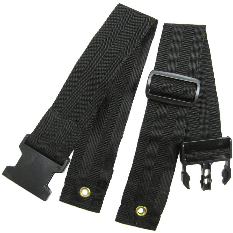 Karman Wheelchair Seat Belt, Pelvic Clamp Style, Universal