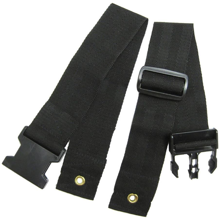 Karman Wheelchair Seat Belt, Pelvic Clamp Style, Universal