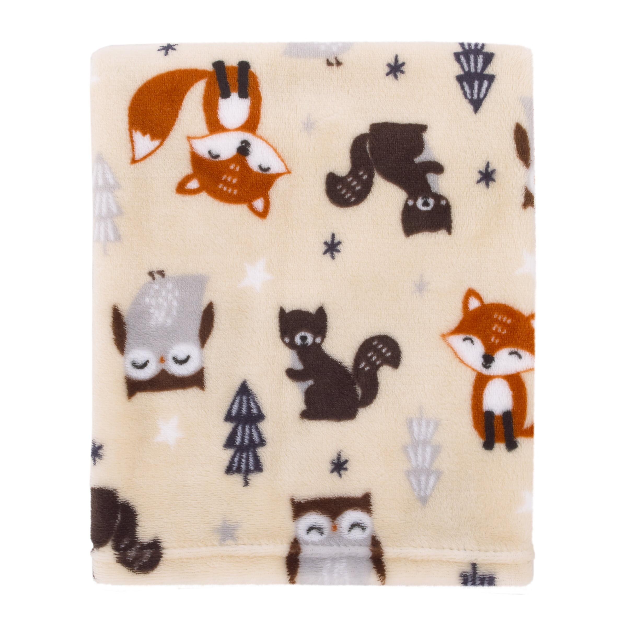 Parent's Choice Fox Woodland Baby Blanket - Walmart.com