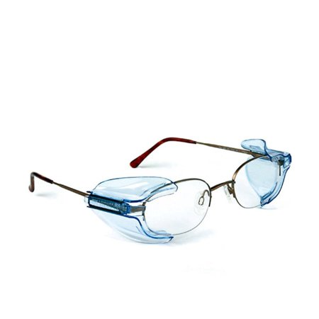 B26+ Wing Mate Safety Glasses Side Shields- Fits Small to Medium Eyeglasses (1 Pair)Meets ANSI Z87.1 and OSHA 29CFR1910 requirements By Hardware (Ansi Z87 Safety Shooting Glasses)