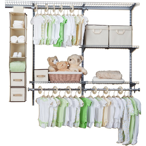 Delta Children 48-Piece Nursery Storage Set