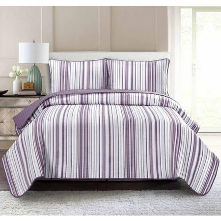 Bay Stripes King Quilt (South Bay Stripe Quilt Set)