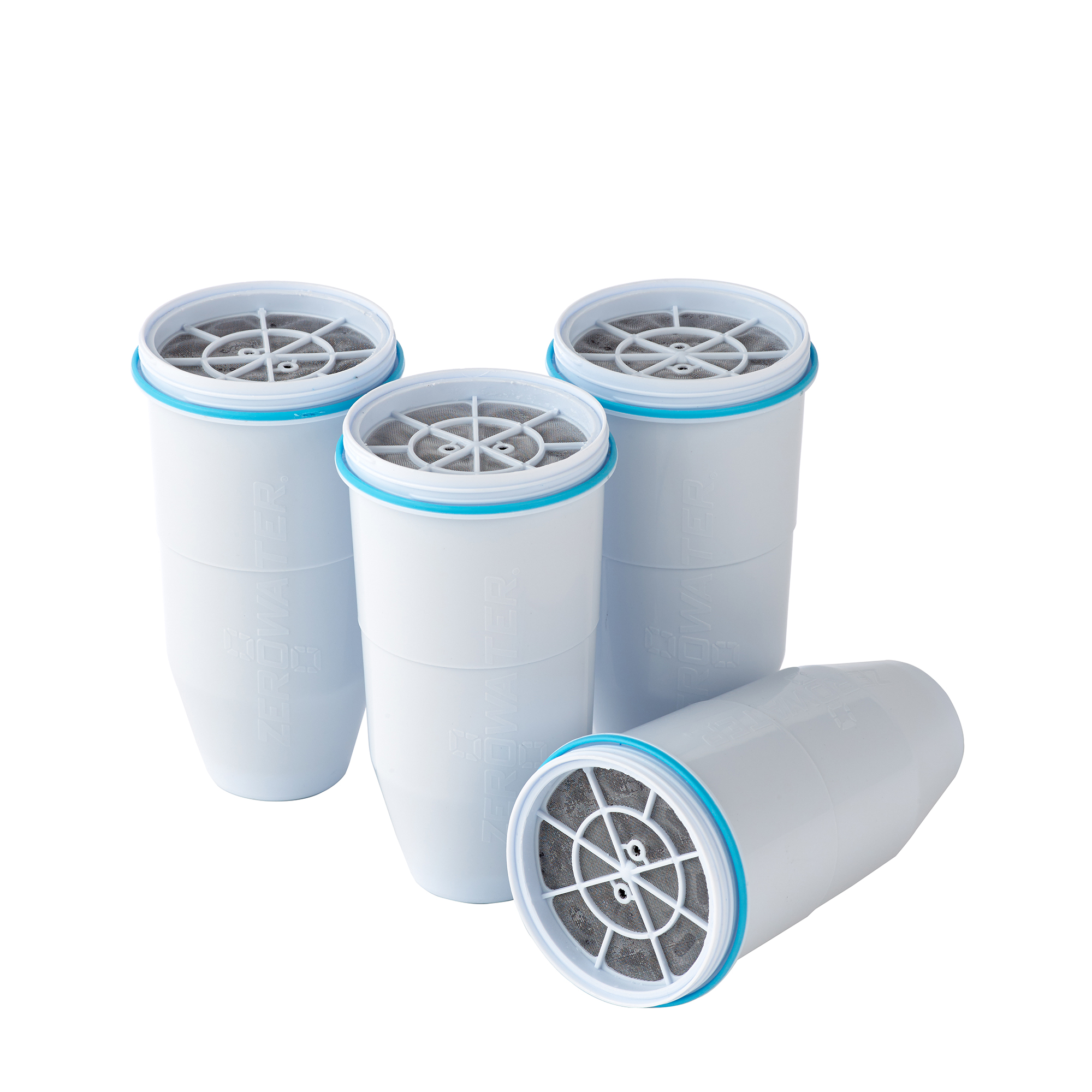 ZeroWater Replacement Filter for Pitchers, 4-Pack (ZR-006)