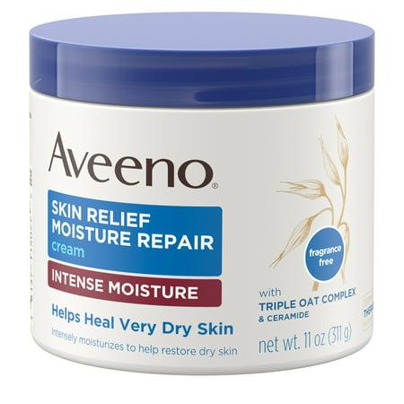 Aveeno Skin Relief Intense Moisturizing Cream, Extra-Dry Skin, 11