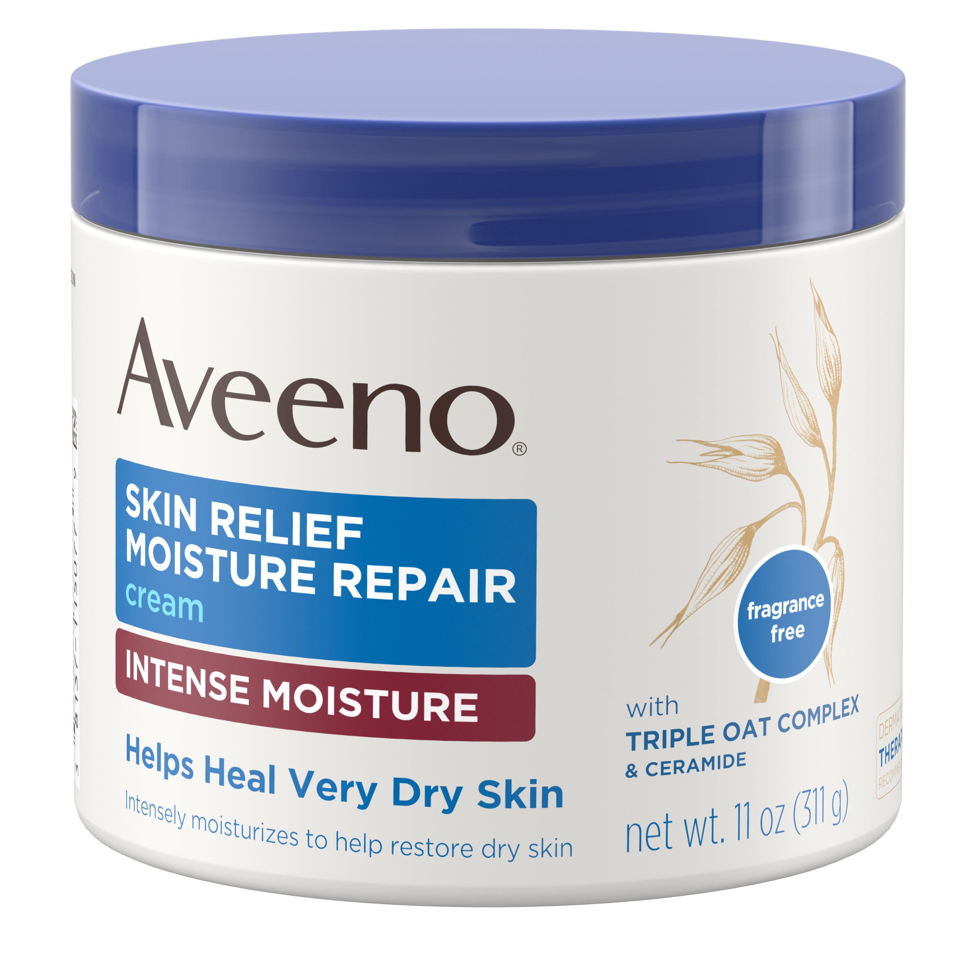 Aveeno Skin Relief Intense Moisturizing Cream, Extra-Dry Skin, 11 oz