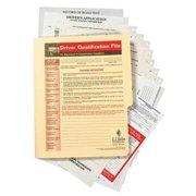 JJ KELLER 3879 Driver Qualification File, Instructional