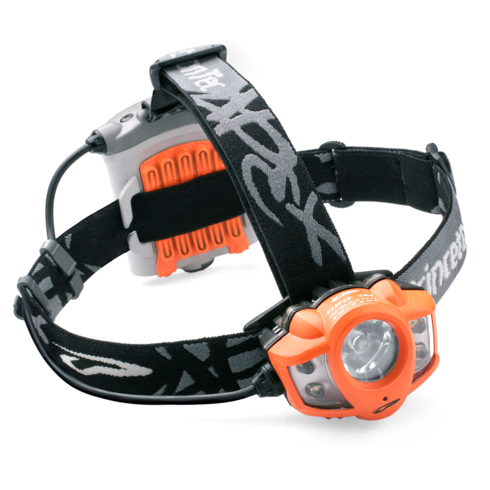 Princeton Tec 260 Lumen Apex Headlamp, Orange