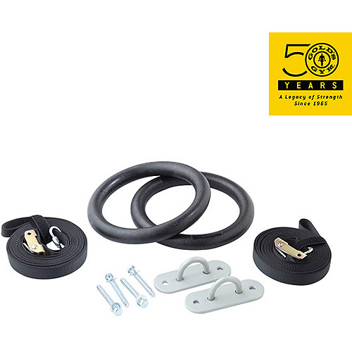 Gold's Gym Xtreme Olympic Rings with Mounts
