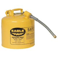 "EAGLE Type II Safety Can,Yellow,15-7/8""H U2-51-SY"