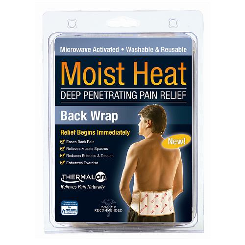 Thermalon Moist Heat Deep-Penetrating Pain Relief Back Wrap 7 X 12 In - 1 Ea
