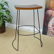 Carolina Chair and Table Marten Saddle Seat Bar Stool