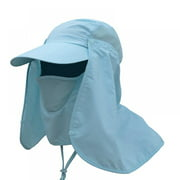 Hot Sale Outdoor Sport Hiking Visor Hat UV Protection Face Neck Cover Fishing Sun Protcet Cap