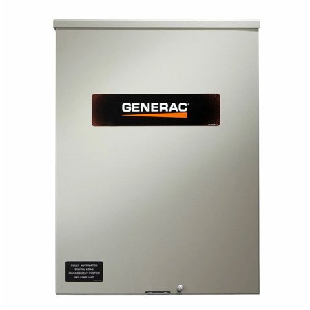 Generac RXSW100A3CUL 100-Amp 120/240-Volt Single-Phase Automatic Transfer (200 Amp 3 Phase Manual Transfer Switch)