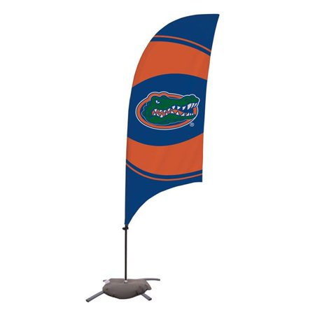 Victory Corps 810029FLA-003 7.5 ft. Florida Gators Razor Feather NCAA Flag with Cross Base - No.003 - image 1 of 1
