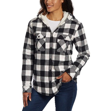 Boston Trader Ladies' Sherpa Lined Hooded (Flannel Lined)