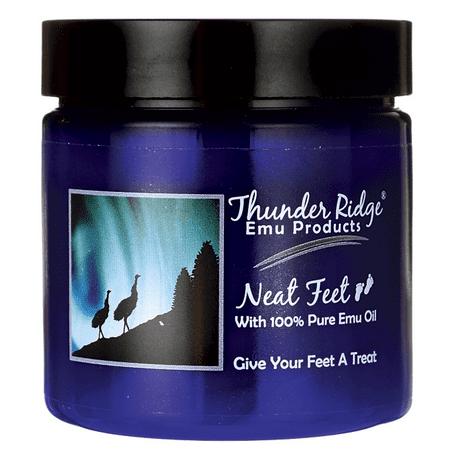 Thunder Ridge Emu Products Neat Feet with 100% Pure Emu Oil 4 oz