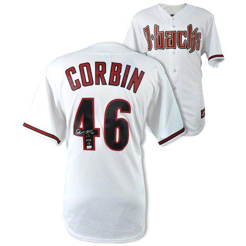 "MLB - Patrick Corbin Autographed Jersey | Details: Arizona Diamondbacks, Home Replica, with ""First ASG 2013"" Inscription"