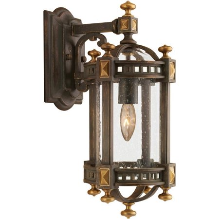 Beekman Place (Wall Sconce BEEKMAN PLACE Extra Small 1-Light Gold Highlights Weathered W FA-183)