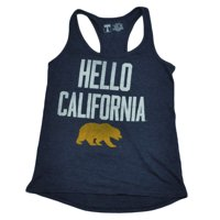 NCAA California State Golden Bears Tank Top Racerback Womens Ladies Navy 2XLarge