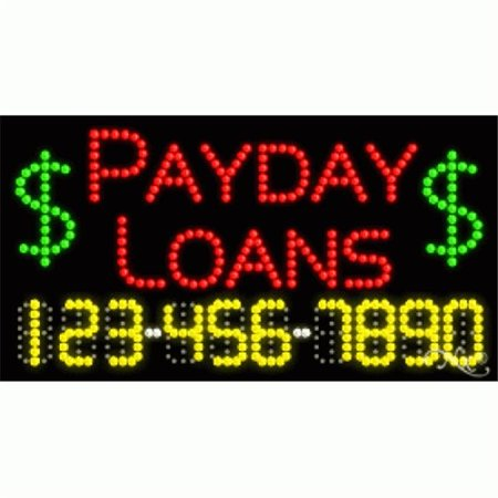 Arter Neon 25093 Payday Advance   Payday Loans  44  Red