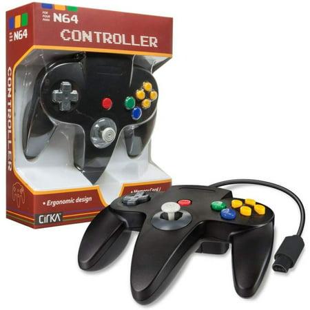 N64 Controller Black Cirka (Best N64 Replacement Controller)
