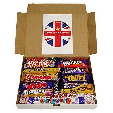 Cadbury Selection Box of 10 Full Size British Chocolate