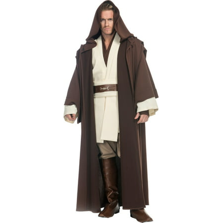 Adult's Mens Premuim Star Wars Obi Wan Kenobi Jedi Robes - Jedi Robes For Sale