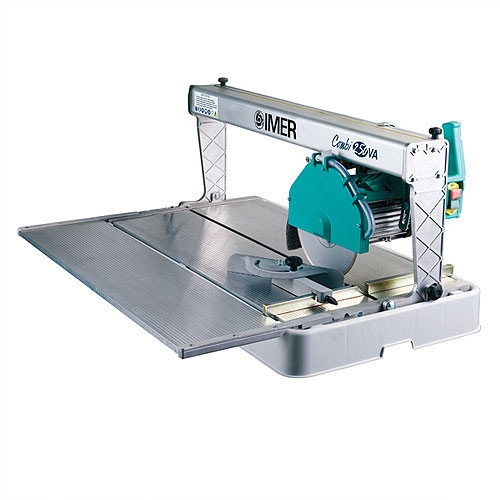 Imer 15 Amp 1.5 HP 110 V 10'' Blade Diameter Electric Tile and Stone Saw