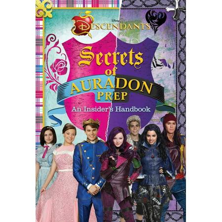 Disney Descendants  Secrets Of Auradon Prep   Insiders Handbook