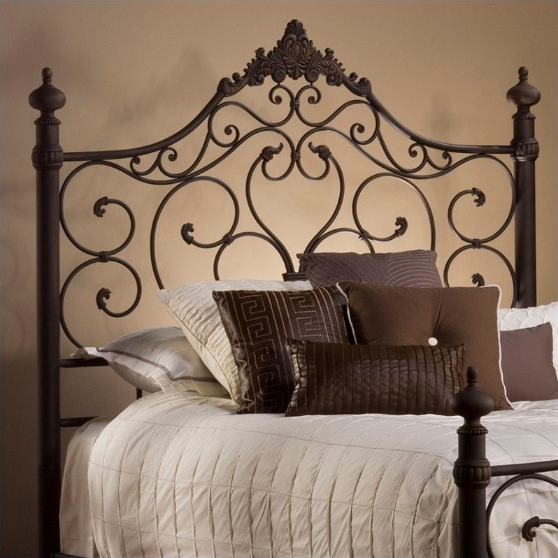 Hillsdale Baremore Spindle Headboard in Brown-King