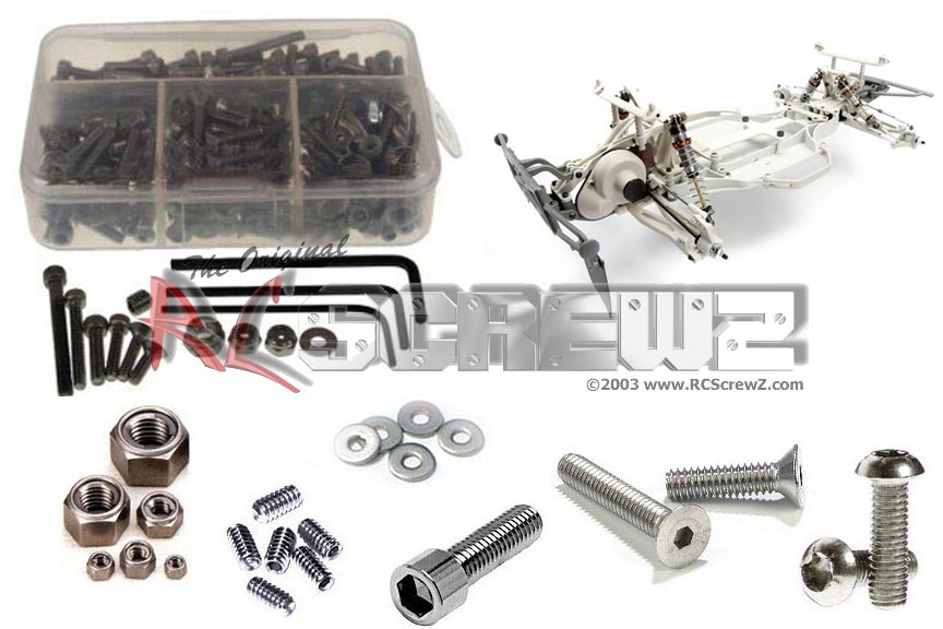 RC Screwz Stainless Steel Screw Kit for HPI Racing Blitz ESE Pro #hpi060 by RCScrewZ